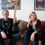 Elisabeth Cutler with guitarist Leander Reininghaus